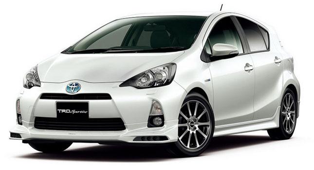 Nejmenší Toyota Prius upravená od TRD 1