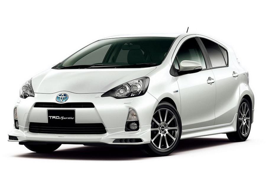 Nejmenší Toyota Prius upravená od TRD 3