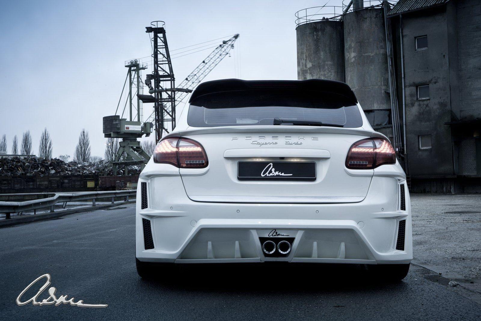 Porsche Cayenne Turbo s vylaďenou vizáží od ASMA Design 2