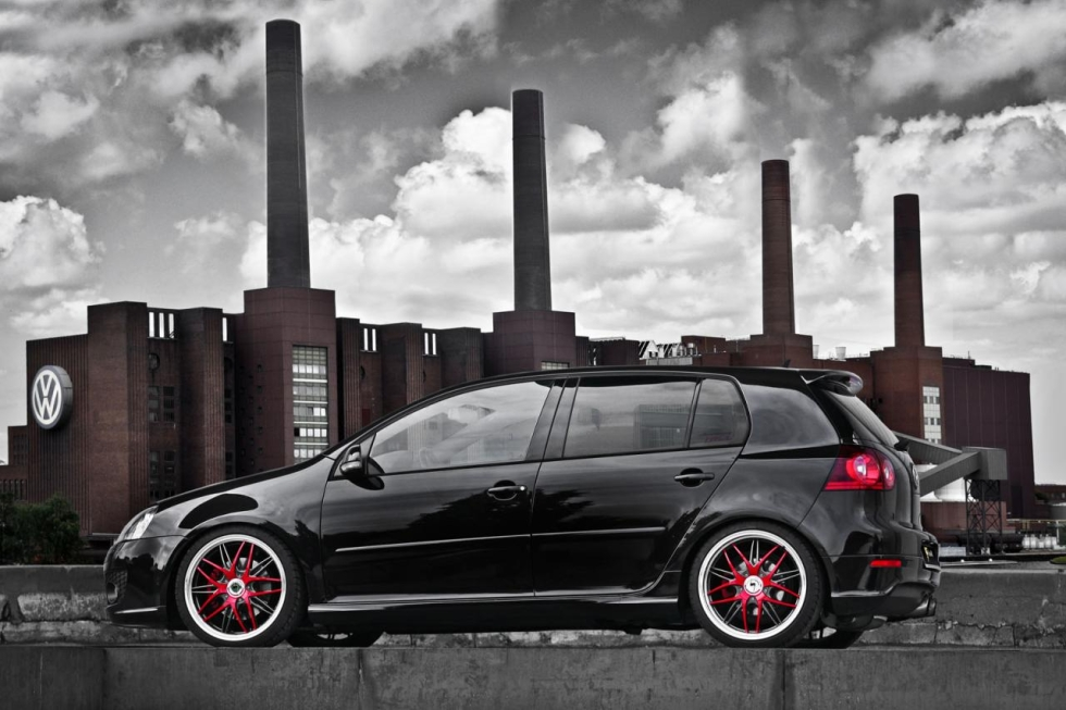 Schmidt Revolution poladil Volkswagen Golf GTI 1