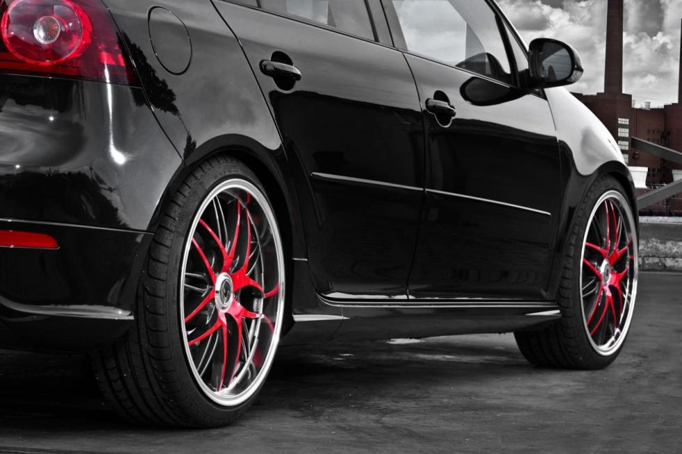Schmidt Revolution poladil Volkswagen Golf GTI  3