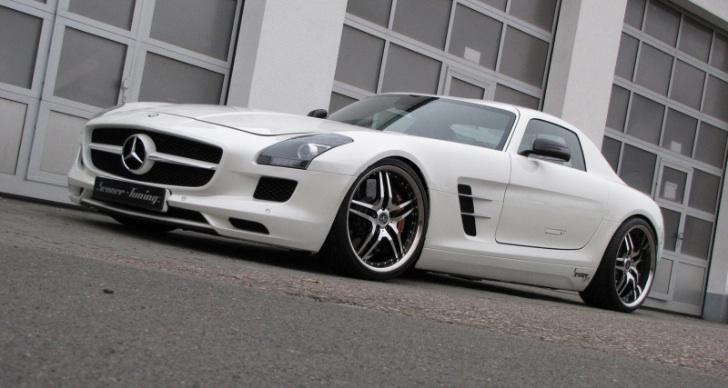 Senner představil lehčí úpravy pro Mercedes-Benz SLS AMG 1