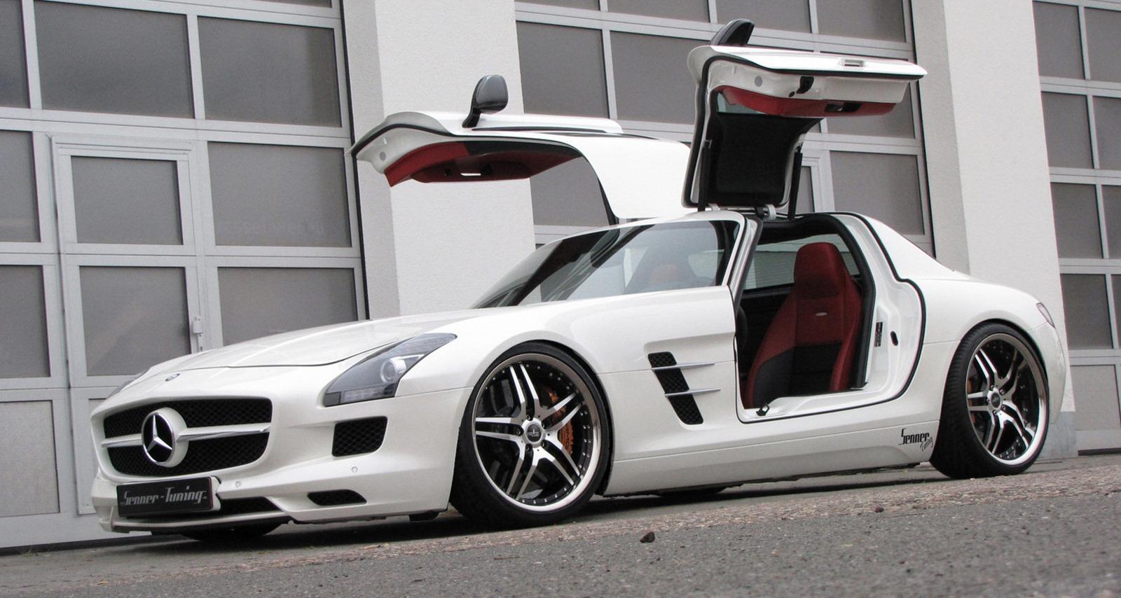 Senner představil lehčí úpravy pro Mercedes-Benz SLS AMG 2