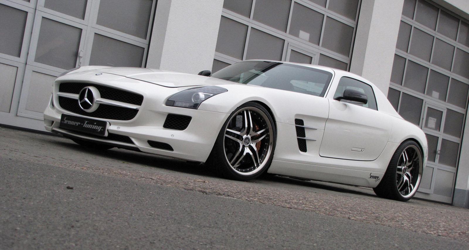 Senner představil lehčí úpravy pro Mercedes-Benz SLS AMG 3
