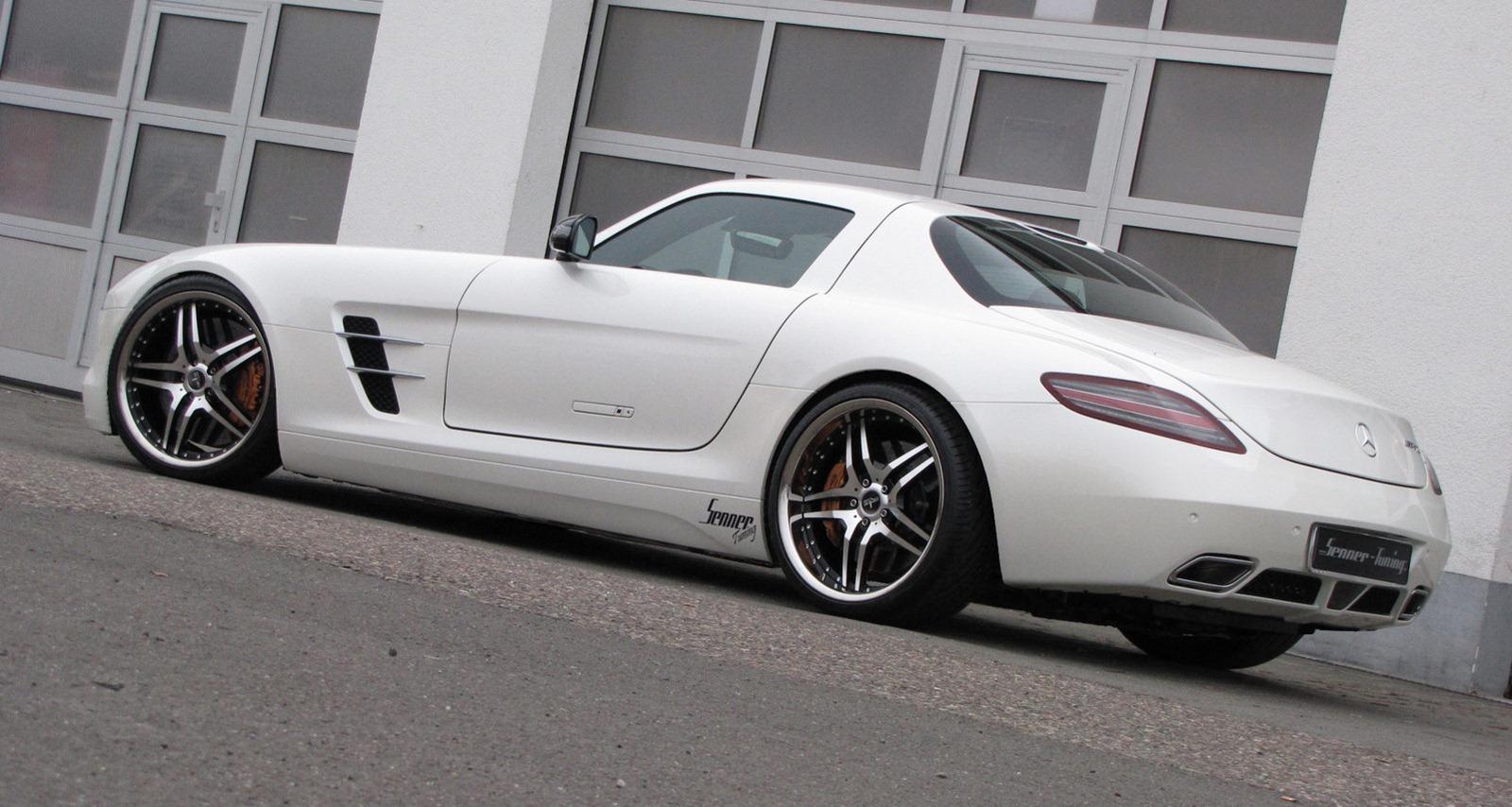Senner představil lehčí úpravy pro Mercedes-Benz SLS AMG 5
