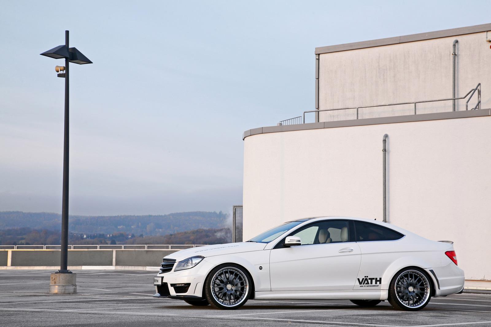VATH V63 Supercharged aneb vyladěný Mercedes C63 AMG 2