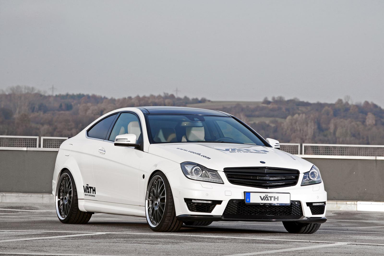 VATH V63 Supercharged aneb vyladěný Mercedes C63 AMG 3