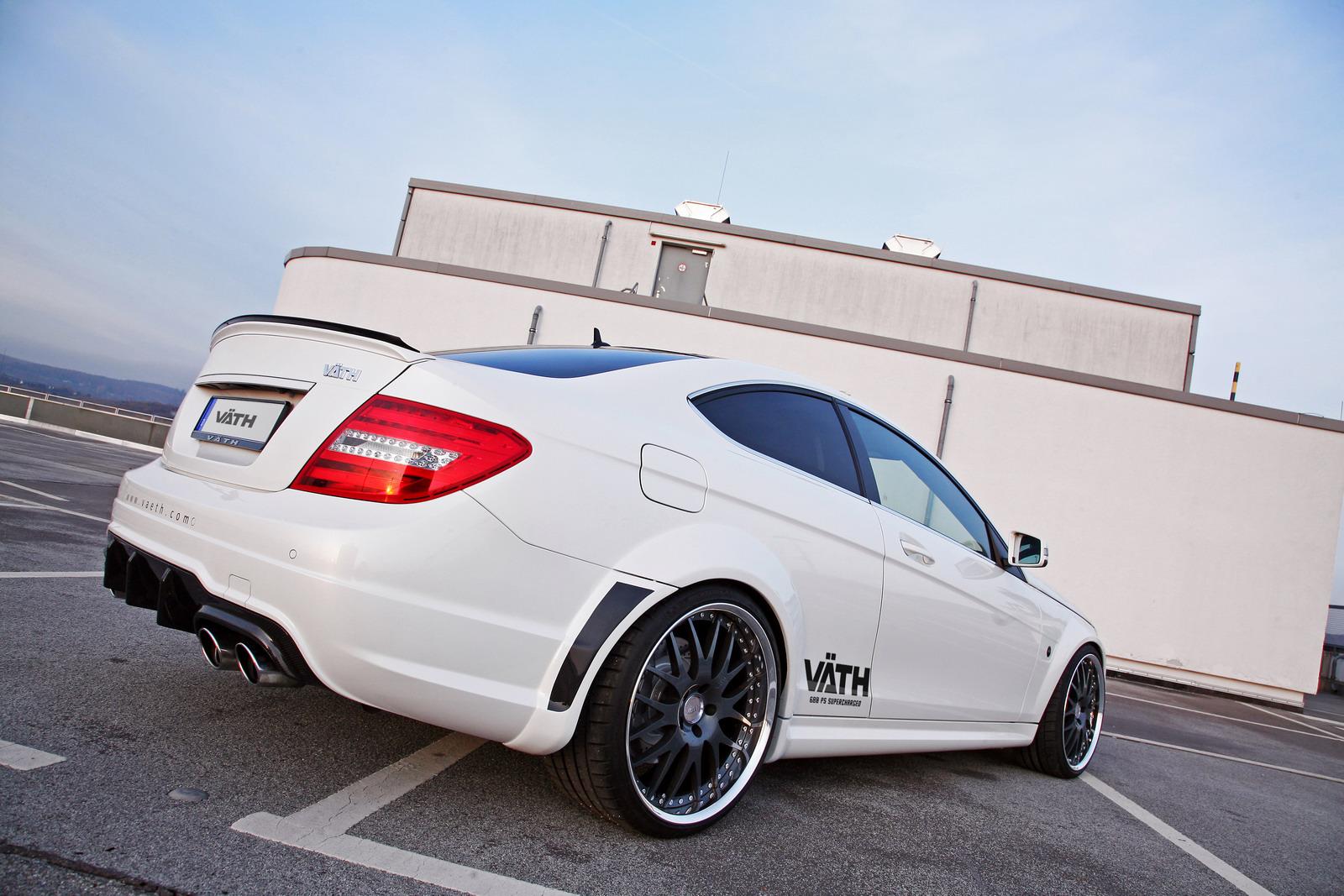 VATH V63 Supercharged aneb vyladěný Mercedes C63 AMG 4