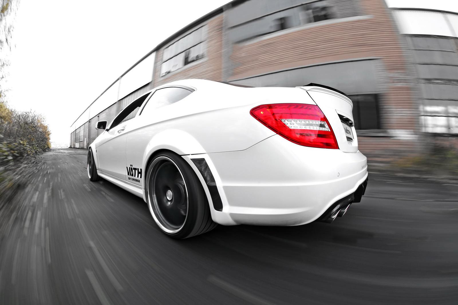 VATH V63 Supercharged aneb vyladěný Mercedes C63 AMG 6