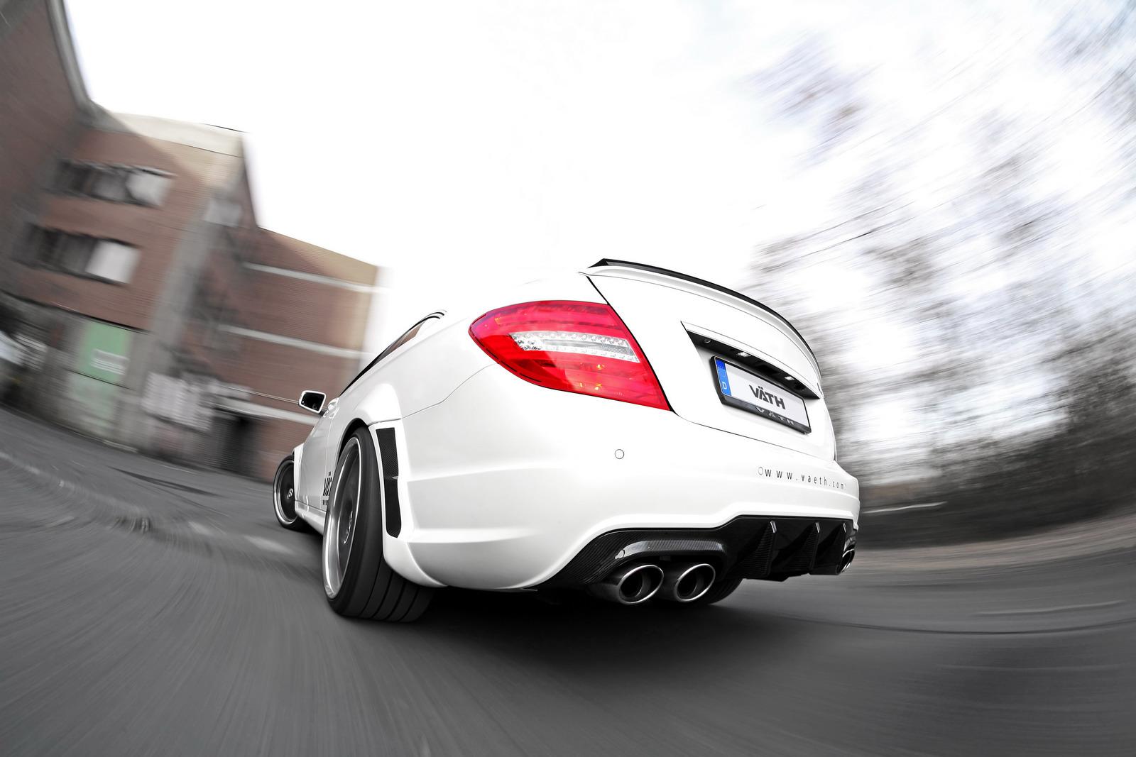 VATH V63 Supercharged aneb vyladěný Mercedes C63 AMG 7