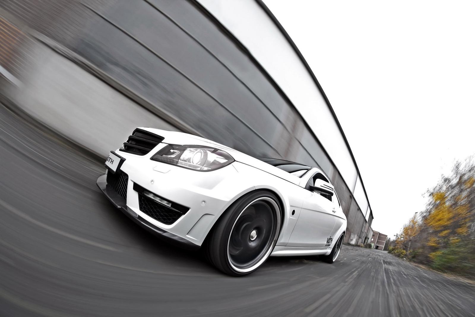 VATH V63 Supercharged aneb vyladěný Mercedes C63 AMG 8