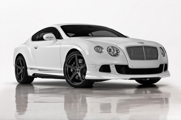 Bentley Continental GT jako Vorsteiner BR-10 1