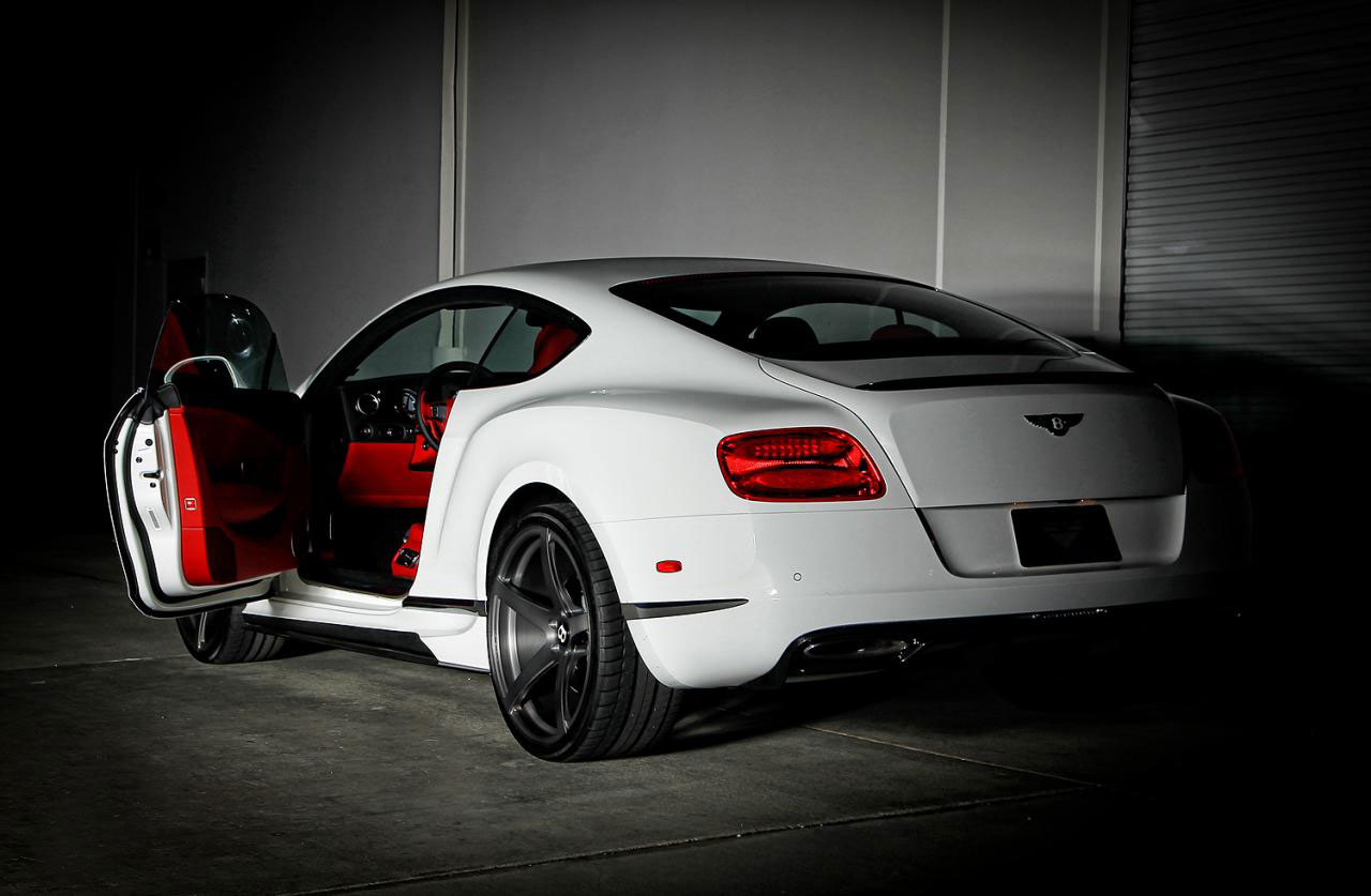 Bentley Continental GT jako Vorsteiner BR-10 7