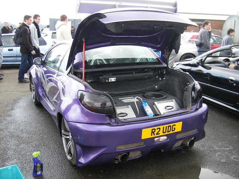 Domácky poladěný Peugeot 206 2