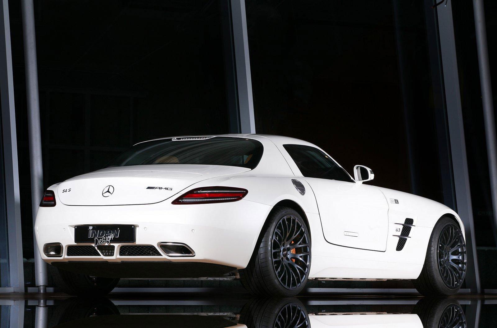 Mercedes-Benz SLS AMG dostal od Inden Design pár koní navíc 3