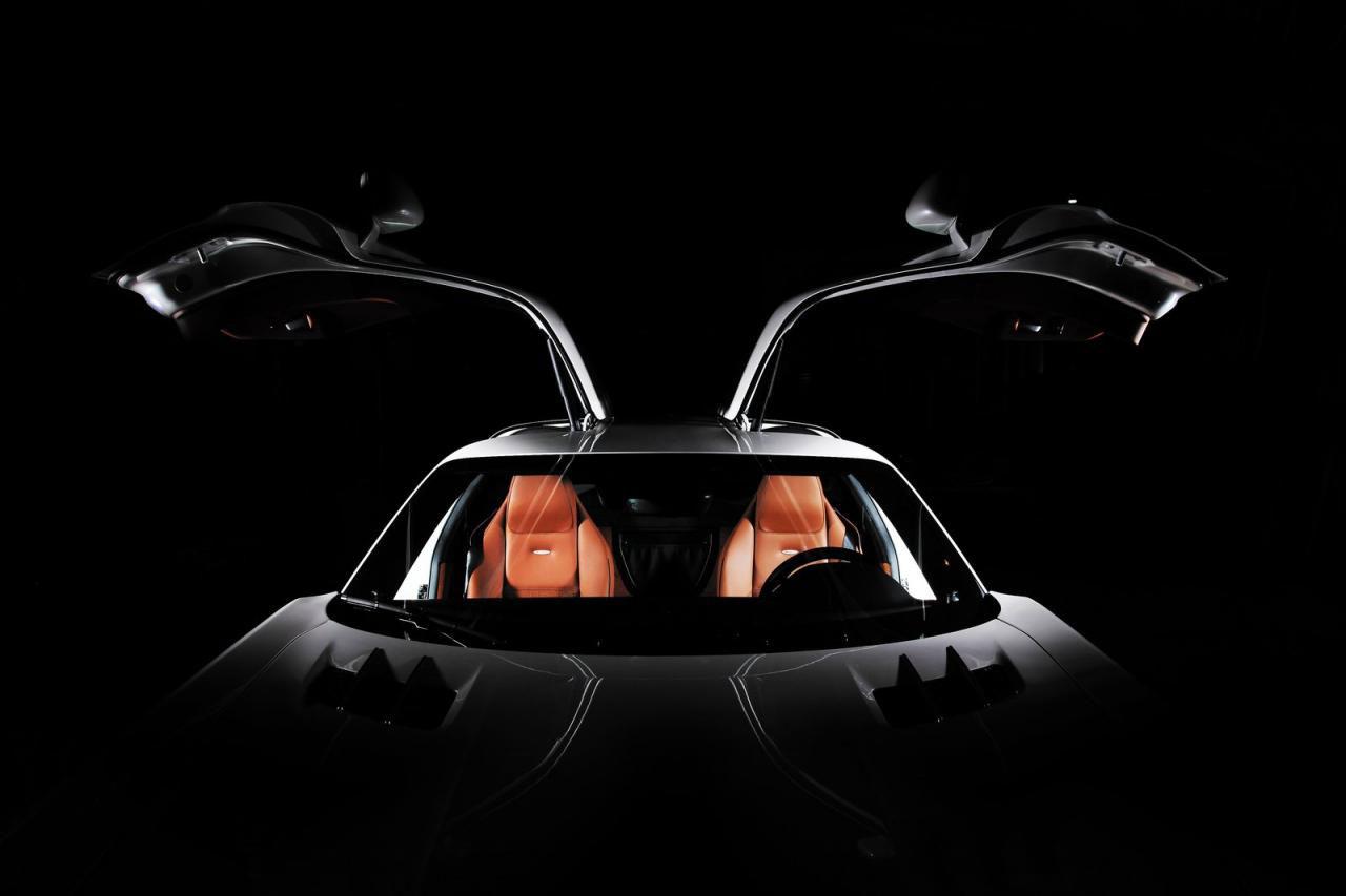 Mercedes-Benz SLS AMG dostal od Inden Design pár koní navíc 4