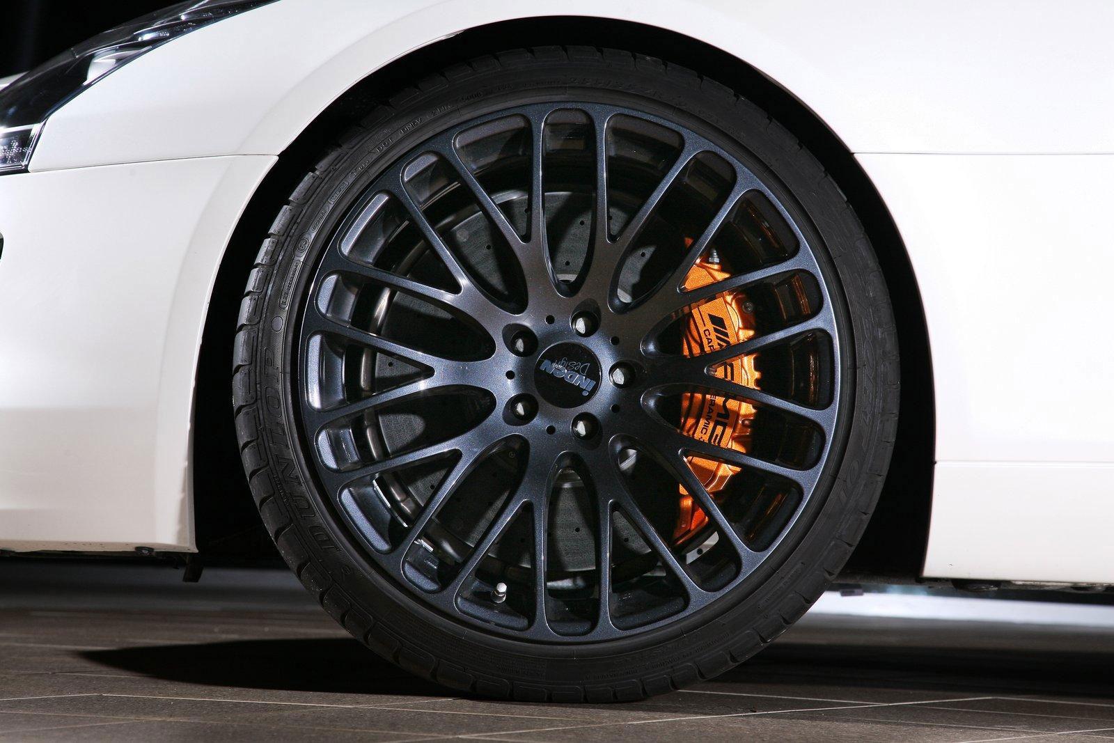 Mercedes-Benz SLS AMG dostal od Inden Design pár koní navíc 5