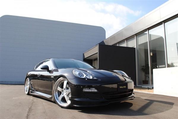 Porsche Panamera S od japonských tunerů Wurde 1