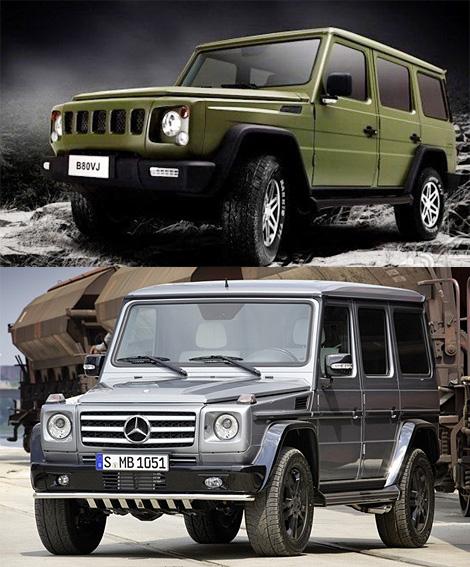 Číňani naklonovali Mercedes-Benz G 3