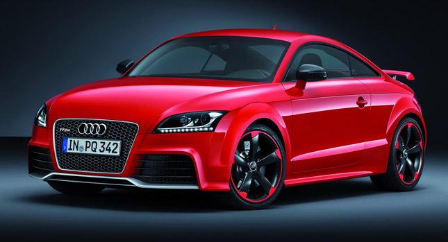 Audi TT RS Plus nejsilnější TT 1