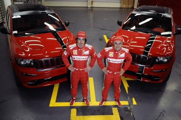 Fernando Alonso a Felipe Massa dostali nové hračky 1