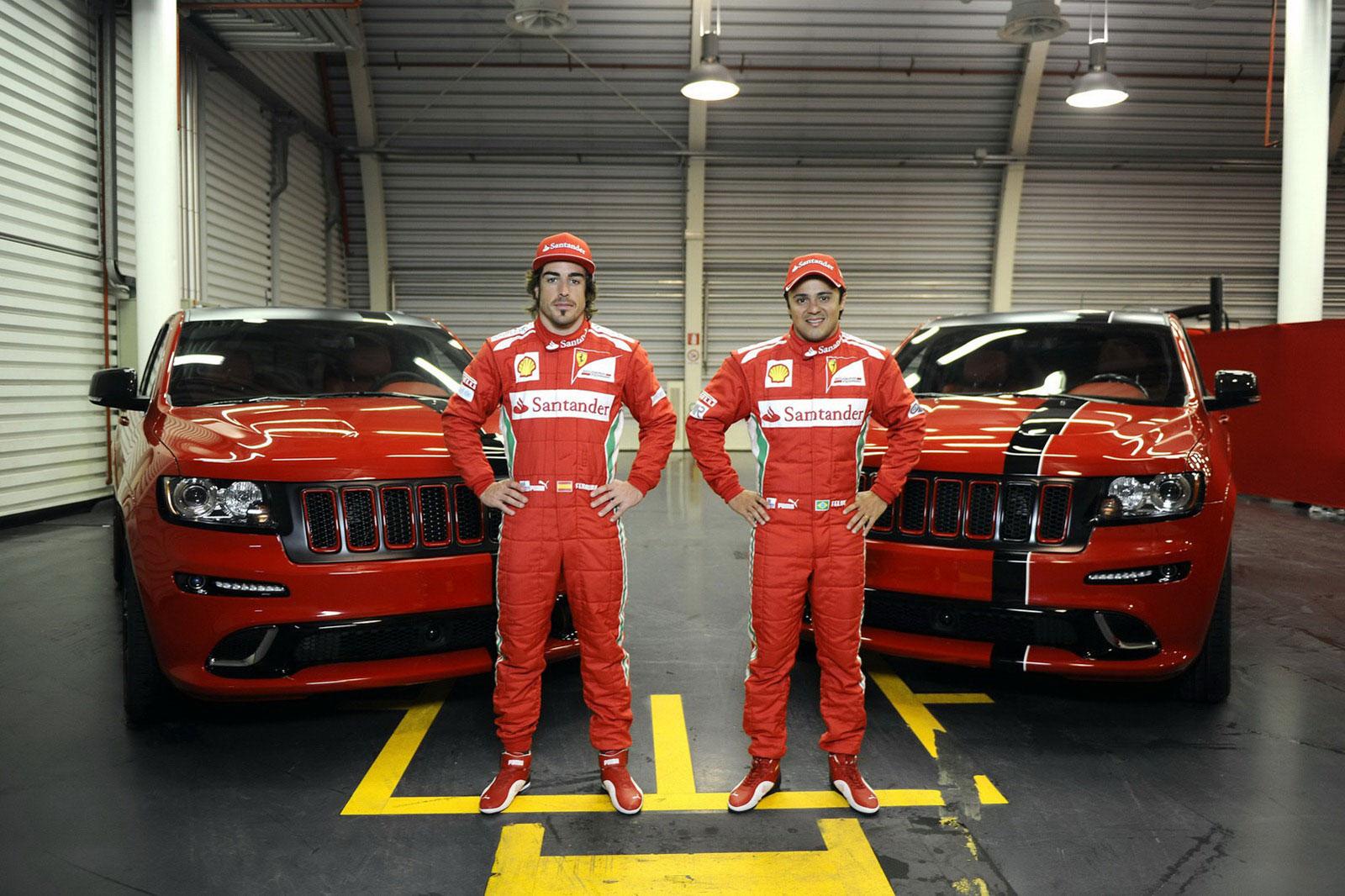 Fernando Alonso a Felipe Massa dostali nové hračky 2