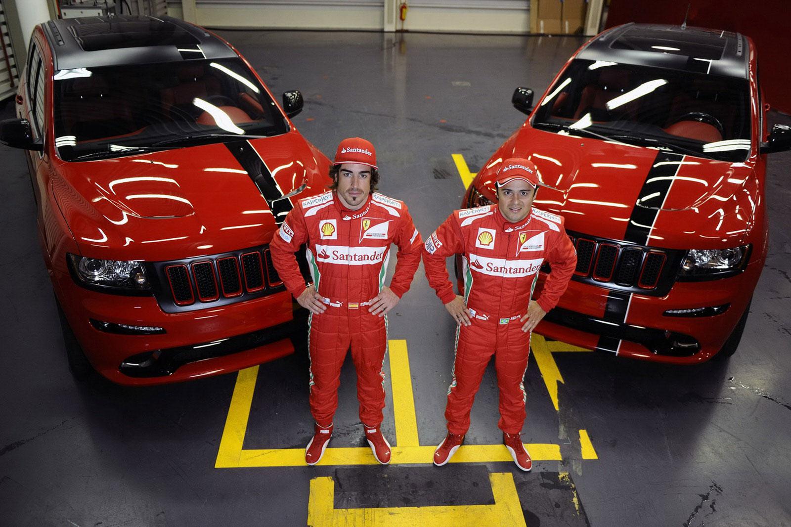 Fernando Alonso a Felipe Massa dostali nové hračky 3