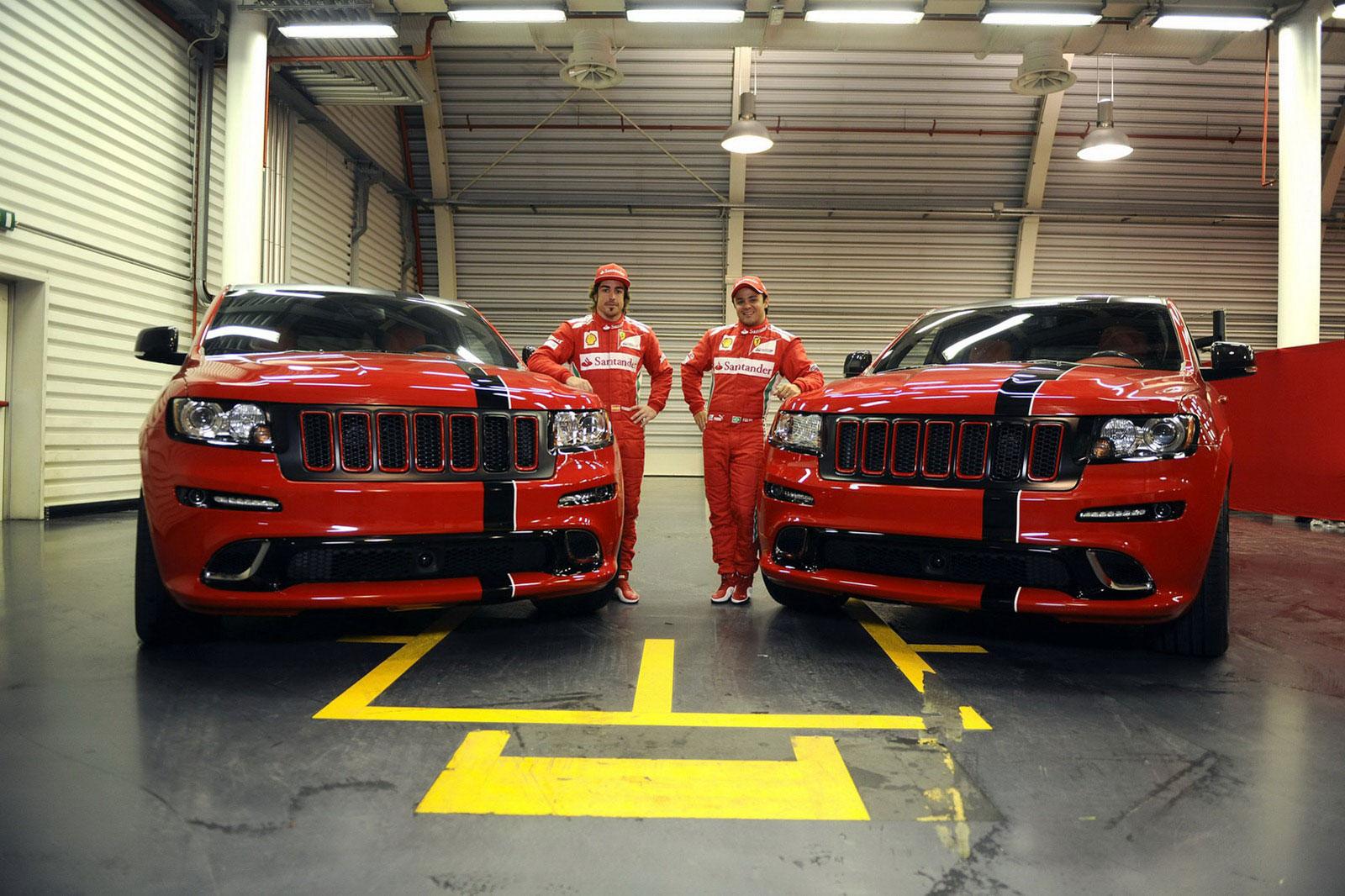 Fernando Alonso a Felipe Massa dostali nové hračky 4