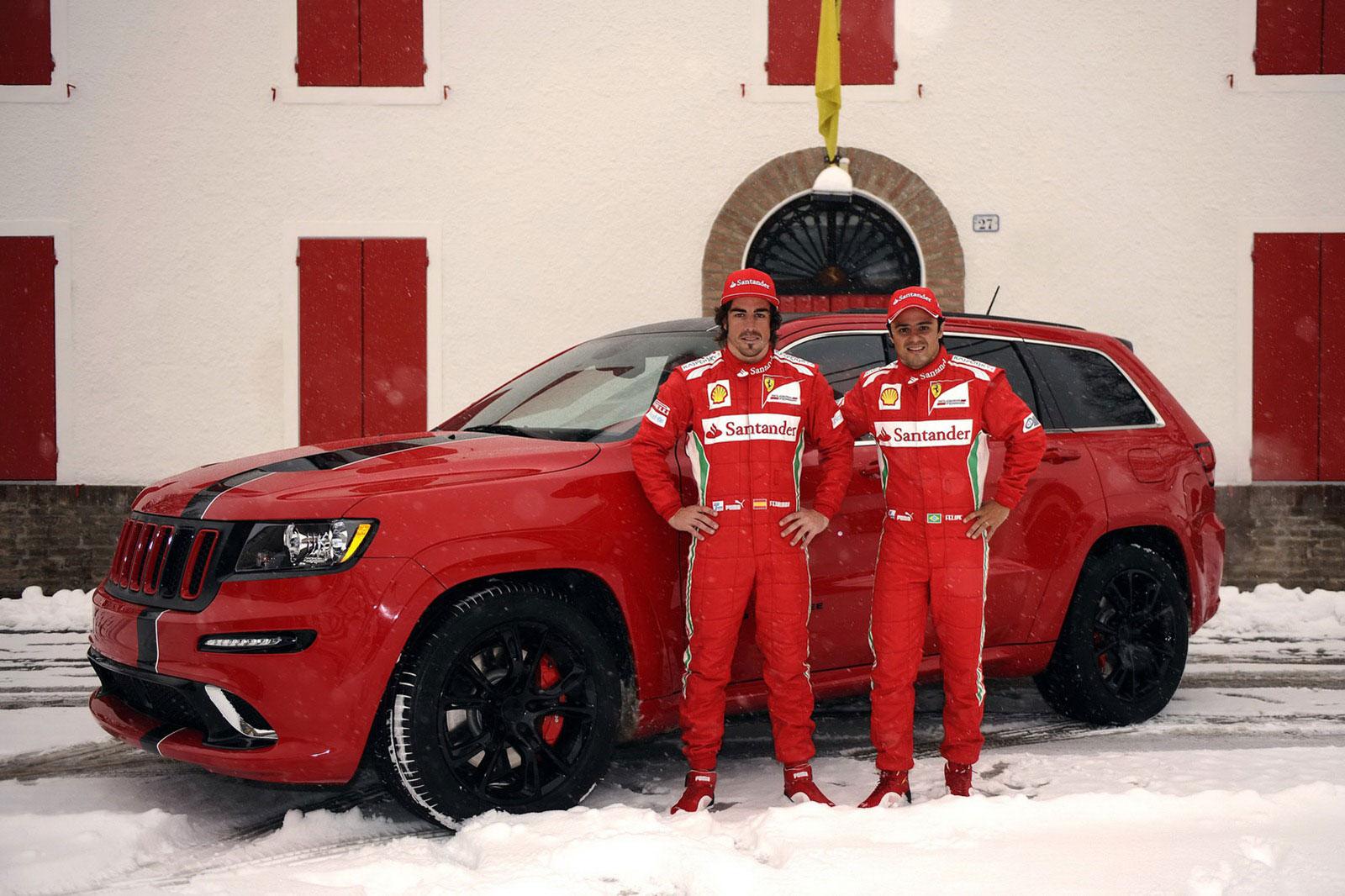 Fernando Alonso a Felipe Massa dostali nové hračky 6