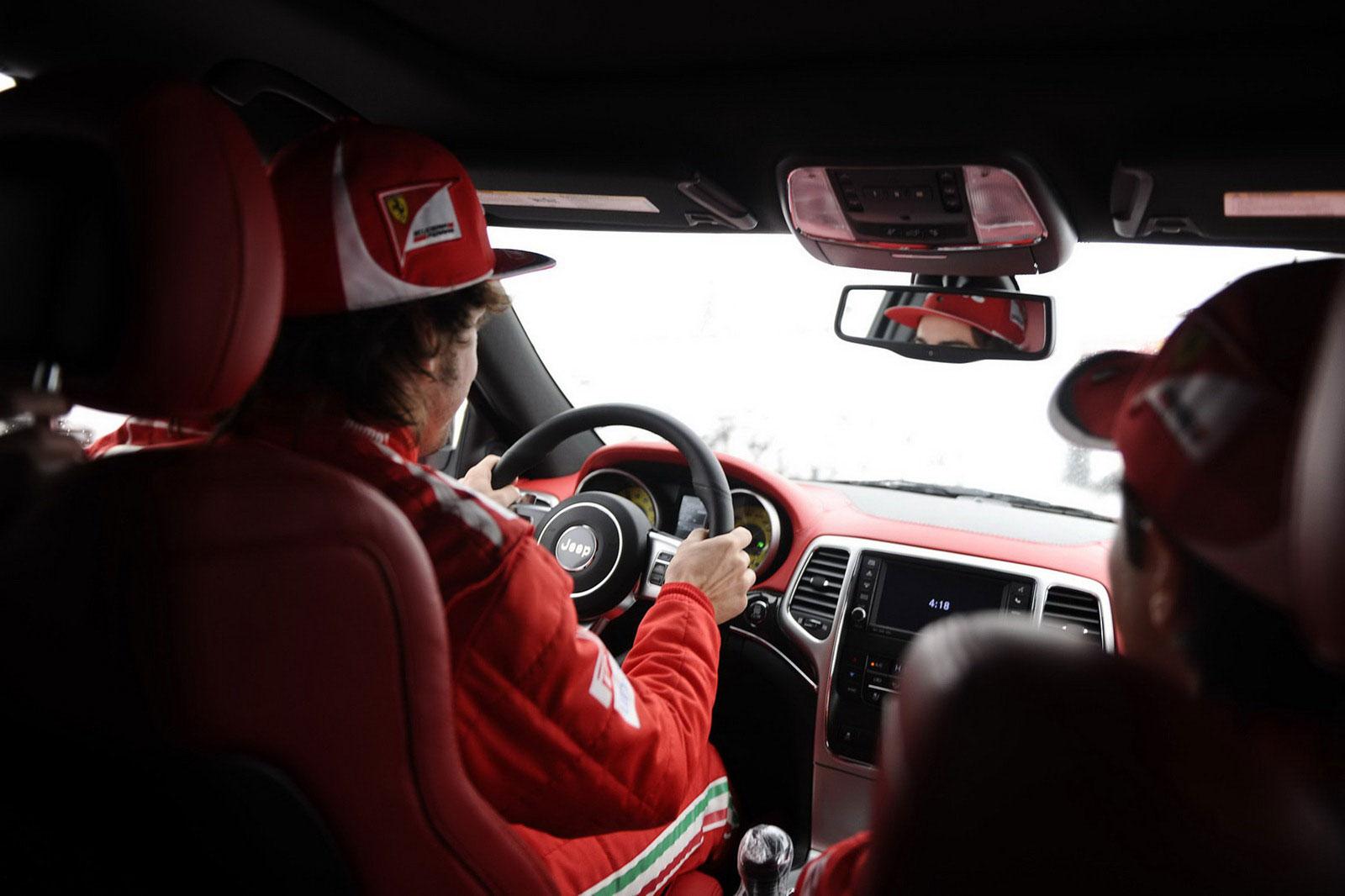 Fernando Alonso a Felipe Massa dostali nové hračky 8