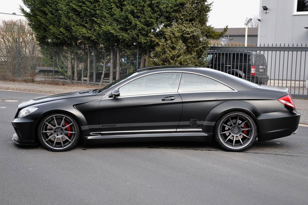 Povedená úprava pro Mercedes-Benz CL od Prior Design 4