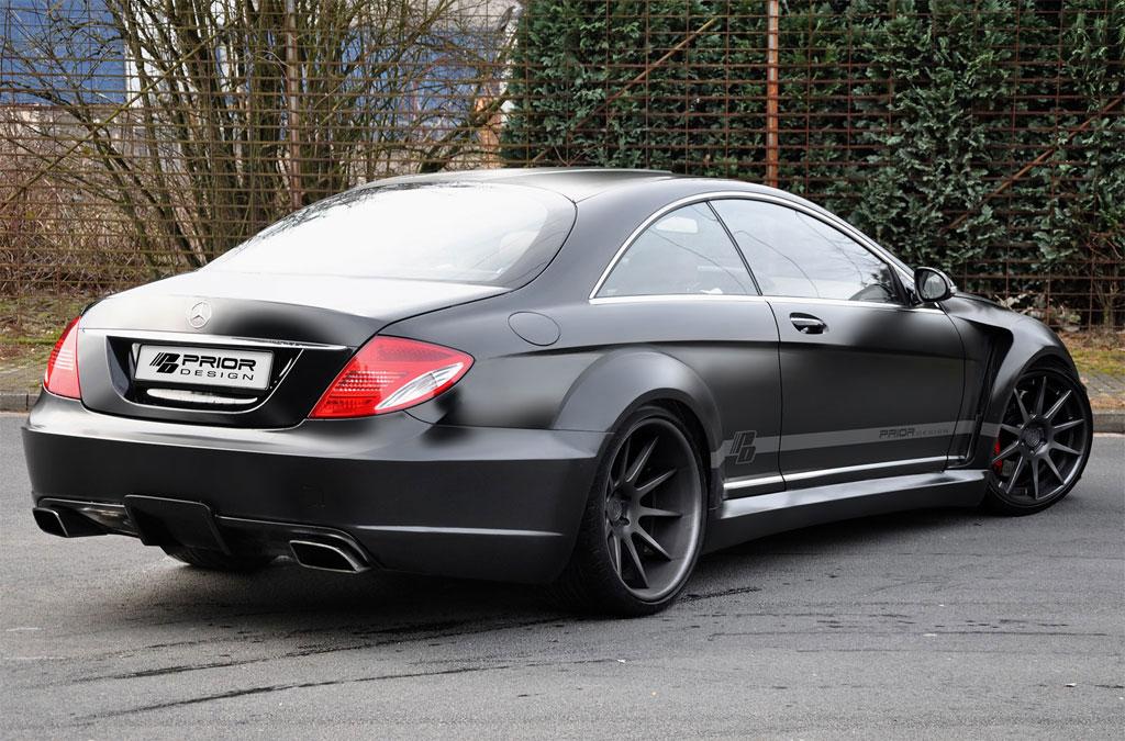 Povedená úprava pro Mercedes-Benz CL od Prior Design 5