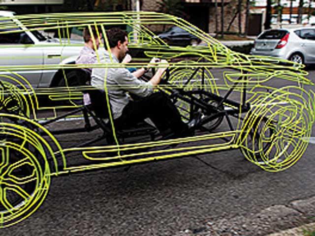 Range Rover Evoque jako šlapadlo 4