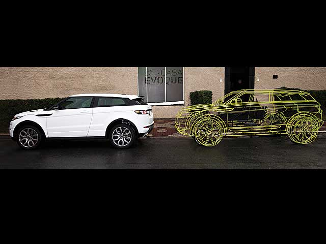 Range Rover Evoque jako šlapadlo 6