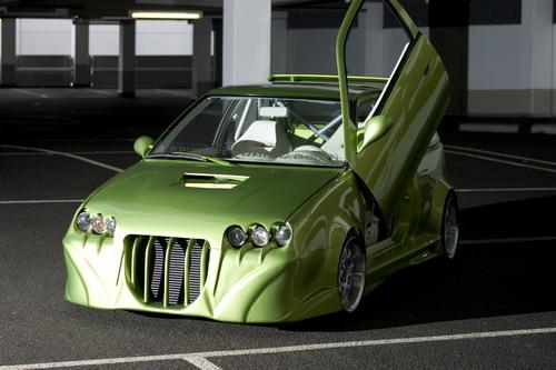 Suzuki Swift GTI prošlo divokou úpravou 1