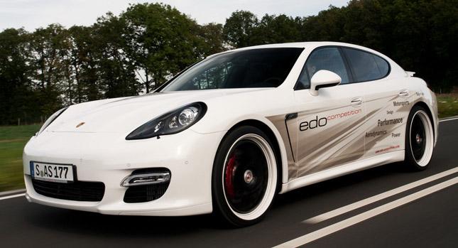 Velmi výkonné Porsche Panamera od Edo Competition 1