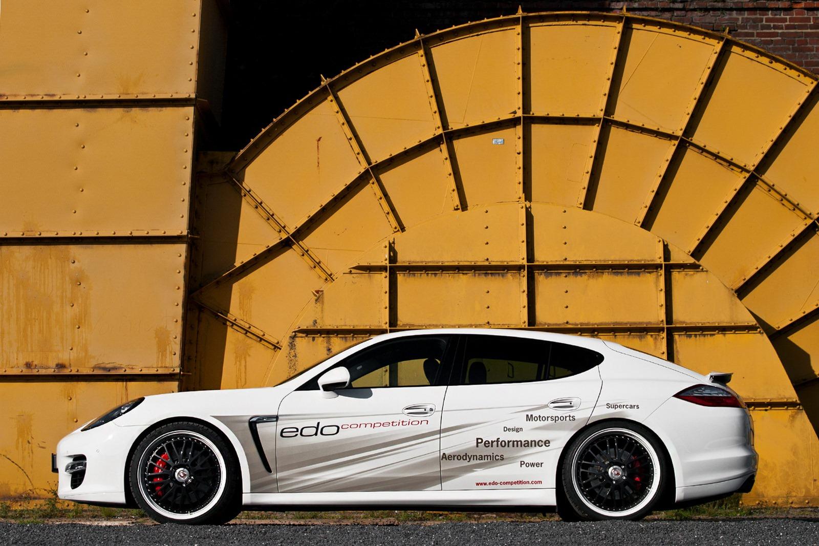 Velmi výkonné Porsche Panamera od Edo Competition 10