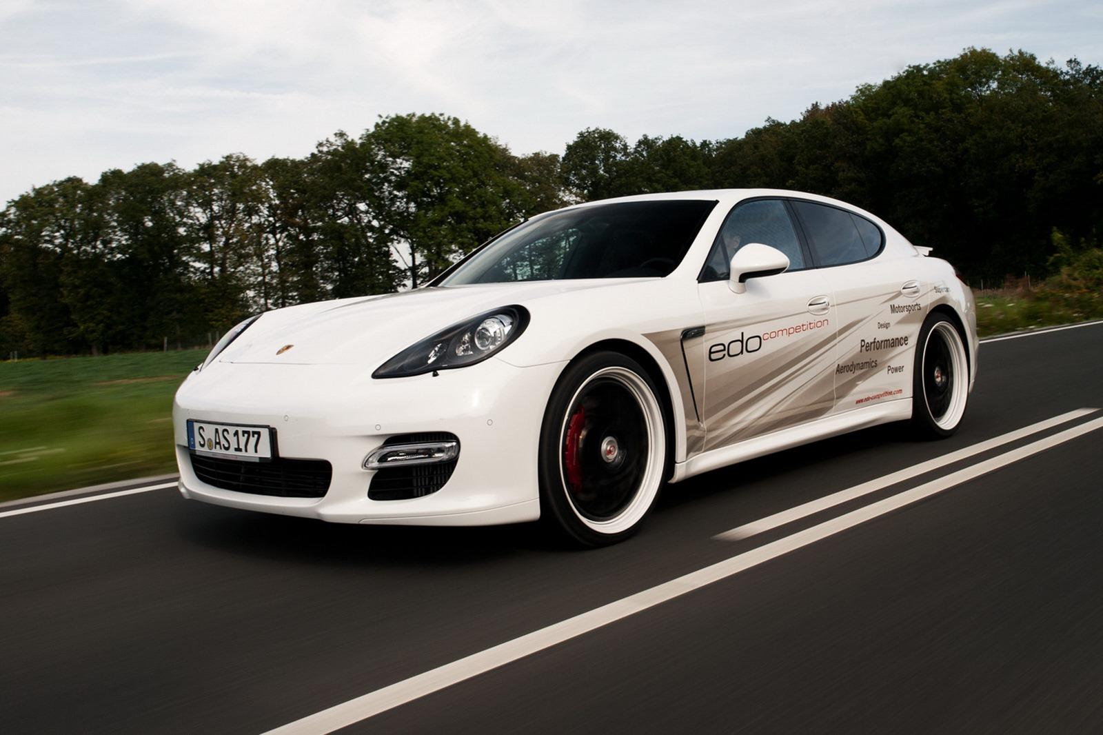 Velmi výkonné Porsche Panamera od Edo Competition 12