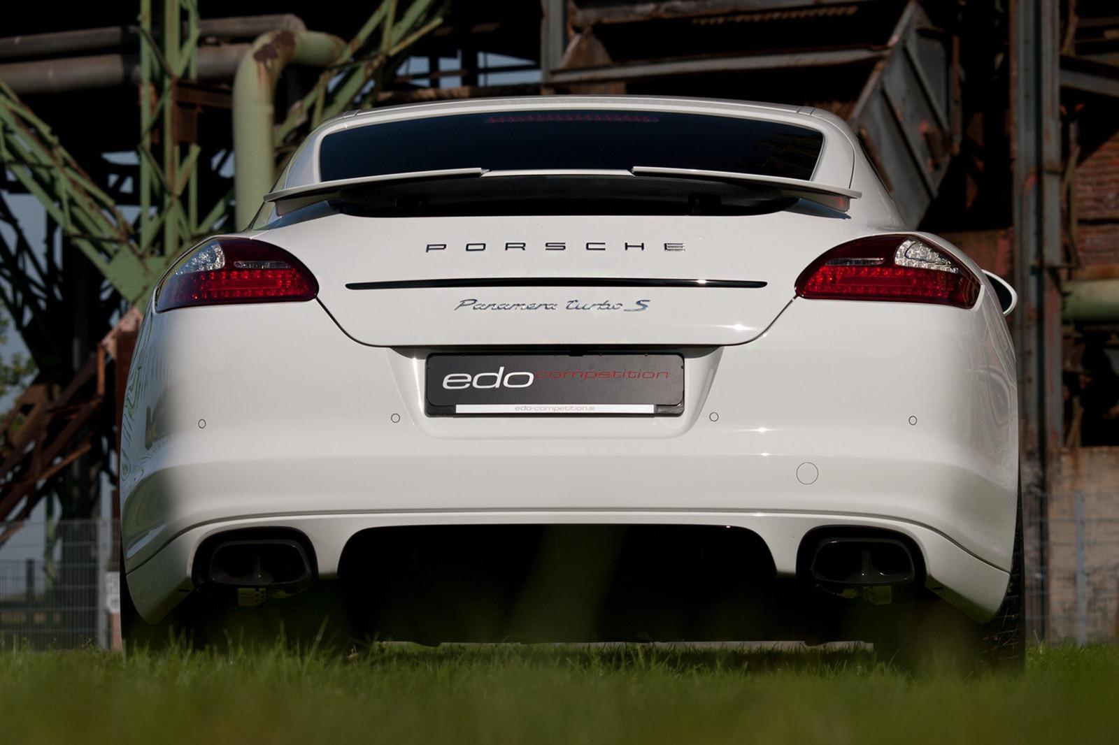 Velmi výkonné Porsche Panamera od Edo Competition 5