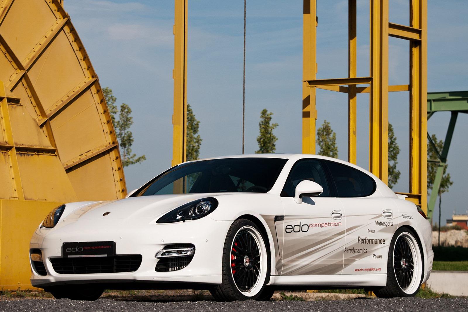 Velmi výkonné Porsche Panamera od Edo Competition 6