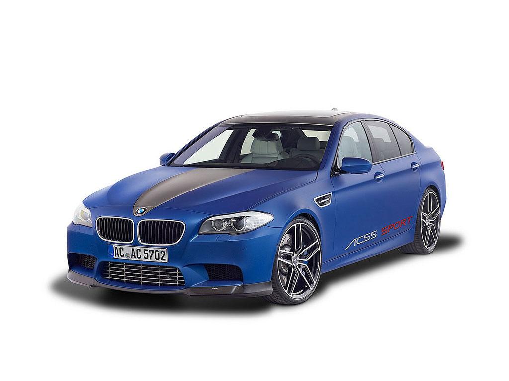 BMW M5 od AC Schnitzer pro Ženevu 2