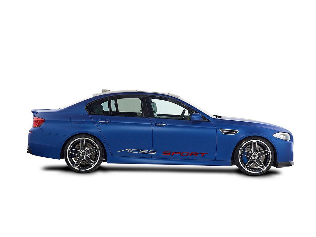 BMW M5 od AC Schnitzer pro Ženevu 7