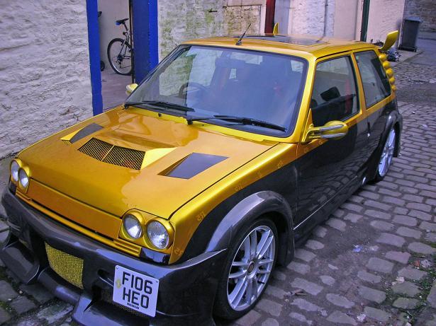Dozlatova vytuzený Renault R5 3
