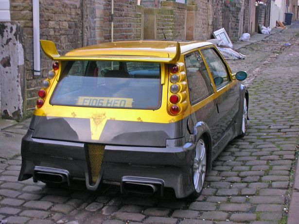 Dozlatova vytuzený Renault R5 4