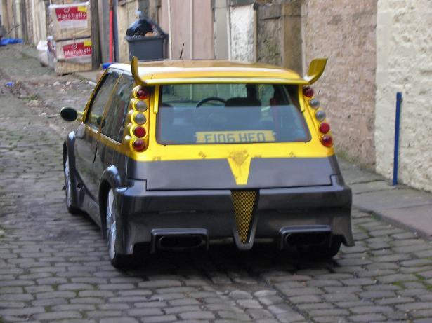 Dozlatova vytuzený Renault R5 5