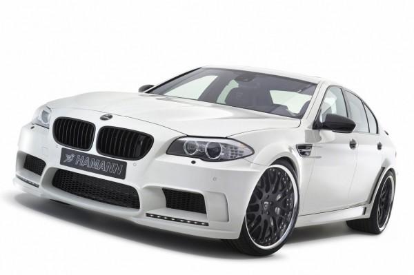 Hamann představil v Ženevě našlapané BMW M5 1