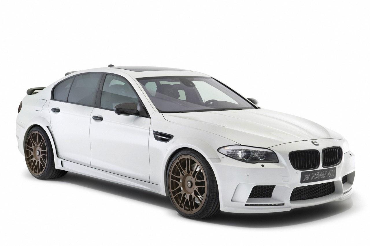 Hamann představil v Ženevě našlapané BMW M5 2