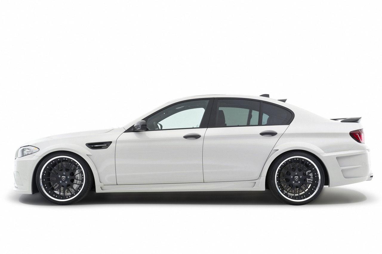 Hamann představil v Ženevě našlapané BMW M5 4
