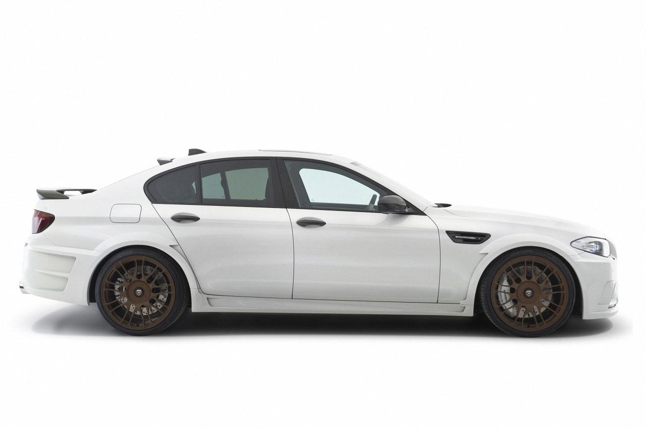 Hamann představil v Ženevě našlapané BMW M5 5