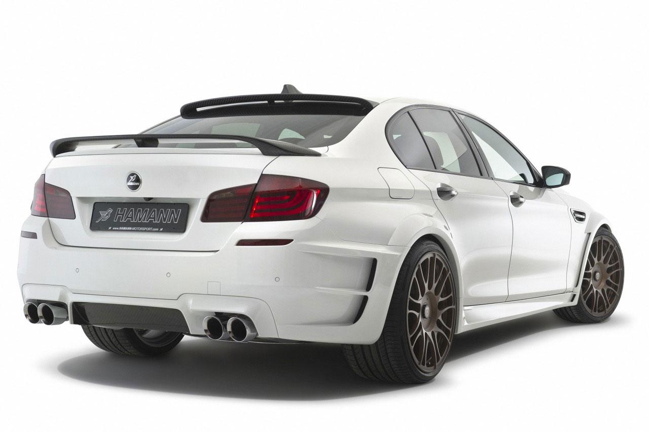 Hamann představil v Ženevě našlapané BMW M5 6